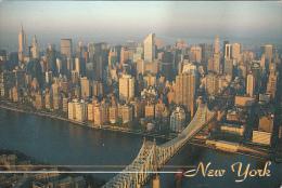 11840- NEW YORK CITY- QUEENSBORO BRIDGE, PANORAMA - Ponts & Tunnels