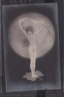 S43 / Frauen Erotik Nude / Fidus Jugendstil 101 Tempeltanz Der Seele - Gemälde