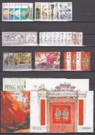 Macau 1997,7 Compl Sets/4 Blocks,year 1997,topical Stamps,motiefzegels,timbres Topiques,MH/Ongebru Ikt( A1465) - 1999-... Speciale Bestuurlijke Regio Van China