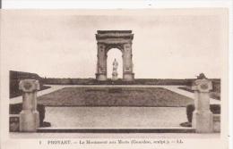 PROYART 1 LE MONUMENT AUX MORTS (GOURDON SCULPTEUR) - Monuments Aux Morts