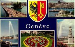 N°45 DID  GENEVE CARTE MULTIVUES - GE Genève