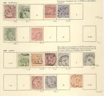 Lot Norddeutscher Postbezirk gestempelt used