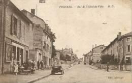 """/ CPA FRANCE 54 """"Frouard, Rue De L'Hôtel De Ville"""" - Frouard"""