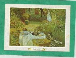 Claude Monet (né à Paris Mort à Giverny) Le Déjeuner - Peintures & Tableaux