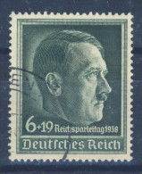 Deutsches Reich Michel No. 672 y gestempelt used / gepr�ft Sluyter