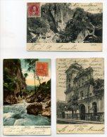 VENEZUELA 3 Cartes  CARACAS Et Rio Guiarte 1904 Et 1905      /D25-2014 - Venezuela