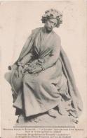 MONUMENT FRANCAIS DE NOISSEVILLE LE SOUVENIR (SOUS LES TRAITS D´UNE LORRAINE) SUJET EN BRONZE APPLIQUE AU PIEDESTAL 1908 - Monuments Aux Morts