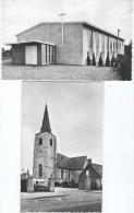 Hove : Kerk St. Laurentius En Kerk St-Jozef 2 Kaarten - Hove
