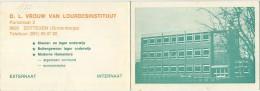 Zottegem - Grotenberge :  OL Vrouw Van Lourdes Instituut  (  Kalender 1977 ) - Non Classés