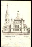 Franzensbad. Russische Kirche / Year 1904 / Old Postcard Circulated - República Checa