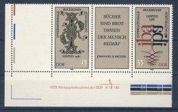 DDR Nr. 2697- 2698 L ** postfrisch DV Druckvermerk W Zd 529 L