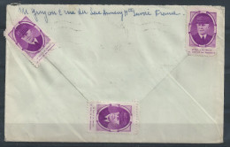 EZ-/-033--. BELLE  LETTRE D' ANNECY,   Via La  SUISSE ( St GALL ) TYPE PETAIN , LIQUIDATION - Marcophilie (Lettres)