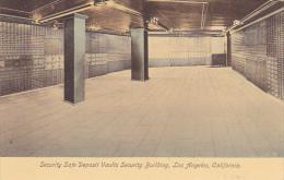 California Los Angeles Security Safe Depost Vaults Security Bank Building