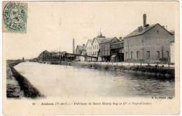Ardres Fabrique De Sucre Henry Say Et Cie à Pont D'Ardres - Ardres