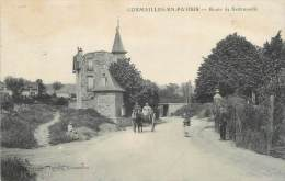 """/ CPA FRANCE 95 """"Cormeilles En Parisis, Route De Sartrouville"""" - Cormeilles En Parisis"""