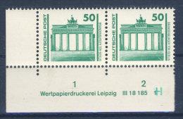 DDR Michel Nr. 3346 ** postfrisch DV 3 Druckvermerk