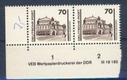 DDR Nr. 3348 ** postfrisch DV  Druckvermerk