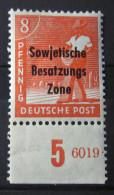 Alliierte Besetzung 1948 SBZ Briefmarken Rand Ungebraucht Gummiert - Sowjetische Zone (SBZ)