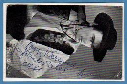 Spectacle - ARTISTES Avec Autographe --  José MORALES - Artisti