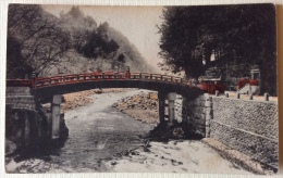 Nikko The Sacred Bridge ( Shin Kyo ) Non Viaggiata F.p. Primi 900 - Giappone