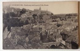 Lussemburgo Fauborg Du Grund Et Ville -Haute F.p. Non Viaggiata - Belgio
