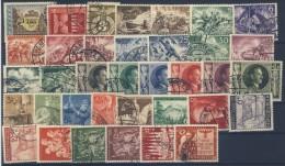 Deutsches Reich No. 828 - 863 gestempelt used / kompletter Jahrgang 1943