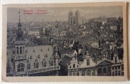 Bruxelles Panorama Viaggiata Del 1922 Formato Piccolo - Viste Panoramiche, Panorama