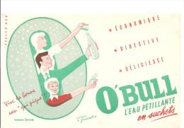 Buvard O�BULL L�eau p�tillante en sachets Economique Digestive D�licieuse