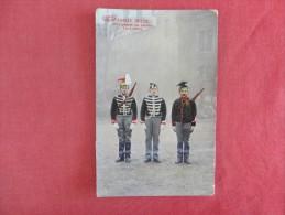 Armee Belge--     As Is Heavy Crease Scotch Tape Repair --ref 1689 - Régiments