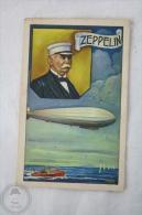 Old Trading Card/ Chromo, Famous Men - Spanish Amatller Chocolate Advertising - Ferdinand Von Zeppelin - Autres