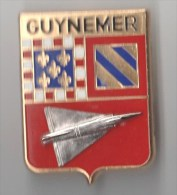 INSIGNE BA 102 BASE AERIENNE GUYNEMER, Mirage Relief - Y DELSART A 1175 - Armée De L'air