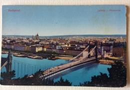 Budapest Panorama Latkep Non Viaggiata Primi 900 F.p. - Ungheria