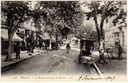 Grasse - Le Boulevard Du Jeu De Ballon - Grasse