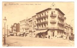 Knocke-sur-Mer    ----  Coin De L' Avenue Lippens  ---  Hôtel Ganda - Knokke