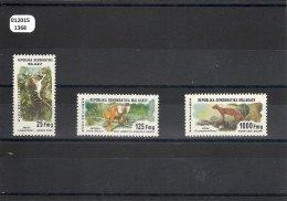 MADAGASCAR 1979 - YT N� 627/629 NEUF SANS CHARNIERE ** (MNH) GOMME D'ORIGINE LUXE