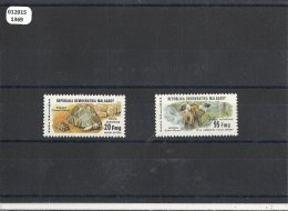 MADAGASCAR 1979 - YT PA N� 177/178 NEUF SANS CHARNIERE ** (MNH) GOMME D'ORIGINE LUXE