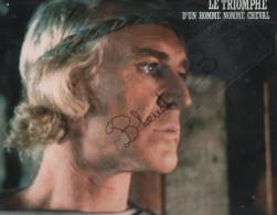 """Photo 1982 Cinéma  """" Le Triomphe D´un Homme Nommé Cheval """" Un Film John Hough Avec Richard Harris , Michael Beck... - Photographs"""