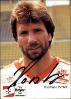 FOOTBALL - HORSTER - Bayer Leverkusen - Pub Aspirine - Autographe - Calcio