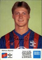 FOOTBALL - BAYERTZ - Bayer Uerdingen - Autographe - Calcio
