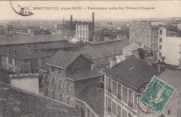 Montreuil Sous Bois 93 - Panorama Vers Les Usines Chaptal - RARE - Montreuil