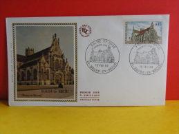 FDC - Église De Brou - 01 Bourg En Bresse - 15.2.1969 - 1er Jour, Coté 1,80 € - FDC