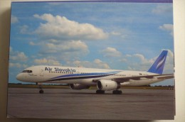 AIR SLOVAKIA   B 757 236    OM DGK - 1946-....: Ere Moderne