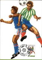 FOOTBALL - Coupe Du Monde - MEXICO - Carte Hongroise - Carte Philatélique - 1986 - Fútbol