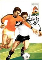 FOOTBALL - Coupe Du Monde - MEXICO - Carte Hongroise - Carte Philatélique - 1986 - - Fútbol