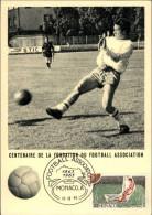 FOOTBALL - Carte Philatélique - Carte Premier Jour - 1963 - MONACO - Fútbol