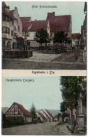 Egisheim I. Els. - Alter Brunnenplatz / HaupstraBe Eingang - France