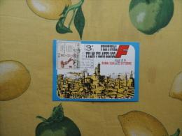 ANNULLO SPECIALE 2.10.1970 3° Festival Film Filatelico Cinema Movie ROMA Eur - 1961-70: Marcofilie