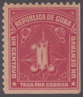1914.30 CUBA. 1914. Ed.5. MNH. TASAS POR COBRAR. POSTAGE DUE. - Kuba