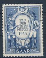 Saar Michel Nr. 342 gestempelt used