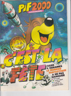PIF 2000,Anniversaire, C'est La Fête, Editions Vaillant, (Sans Date, 1983), Sans Gadget - Pif Gadget